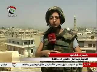 Syrian TV Correspondent Killed Covering Fighting - ABC News